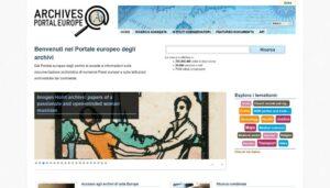 Il portale europeo degli archivi