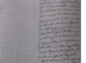 Ricognizione e analisi di fonti archivistiche