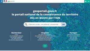 Il portale nazionale per la conoscenza del territorio francese