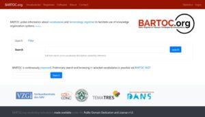 BARTOC database