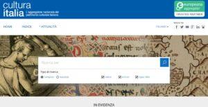 Culturaitalia, l'aggregatore nazionale del patrimonio culturale italiano