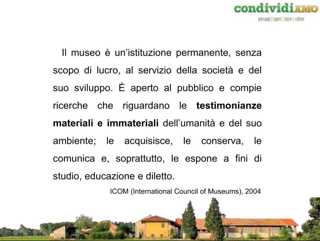 2012 . Musei raccolte e Collezioni: un racconto a più voci