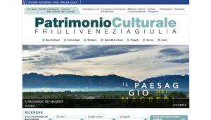Il patrimonio culturale della regione Friuli Venezia Giulia