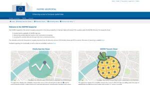 Geoportale INSPIRE, informazione spaziale da tutta L'Europa