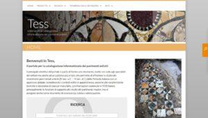 TESS, il database dei pavimenti antichi della penisola italiana