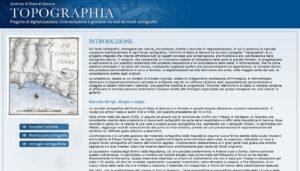 Topographia, i fondi cartografici dell'Archivio di Stato di Genova